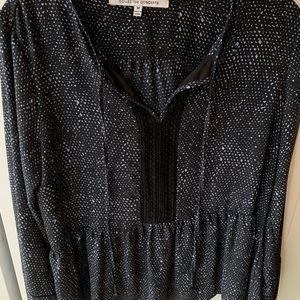 Collective Concepts peplum blouse